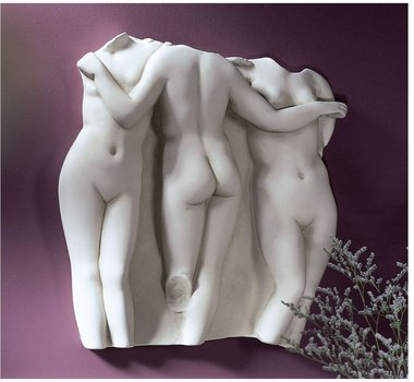 Amazon Com Hellenistic Female Nude Wall Relief Statue Home
