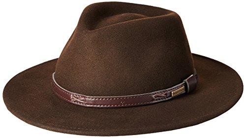 Pendleton Men's Indiana Hat,Beaver Brown,Large - Mens Brown Beaver