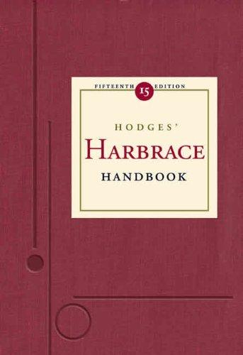 Hodges' Harbrace Handbook