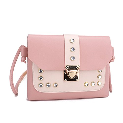Shoulder Bag Satchel Bag Handbags Ba Purse Women Vintage Rhinestone Hit Zha Shoulder Bag Designer Bags Color Ladies Coin Bag Tote Messenger Party Bag Bags Satchel 2018 Pink Clutch Crossbody Bag TAT0q