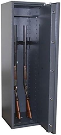 Armario para armas Arma Caja fuerte Gun Safe 0 – 5 (1400 x 400 x 420 mm) Clase 0, 5 soportes para armas: Amazon.es: Bricolaje y herramientas