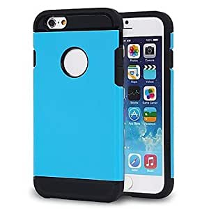 JJE New Generation Armor Protection Sleeve TPU and PC Hard Cover for iPhone 6 (Assorted Colors) , Green