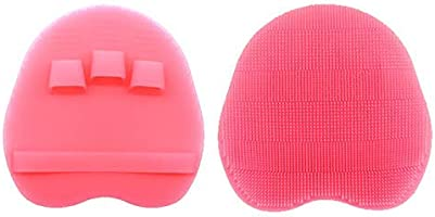 INNERNEED Soft Silicone Body Brush Body Scrub Bath Shower Glove Exfoliating Skin SPA Massage Scrubber Cleanser Facial...