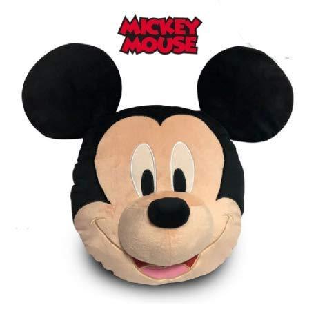 Desconocido Kids WD20589 Mickey Cojín 3D Velvet, Varios ...