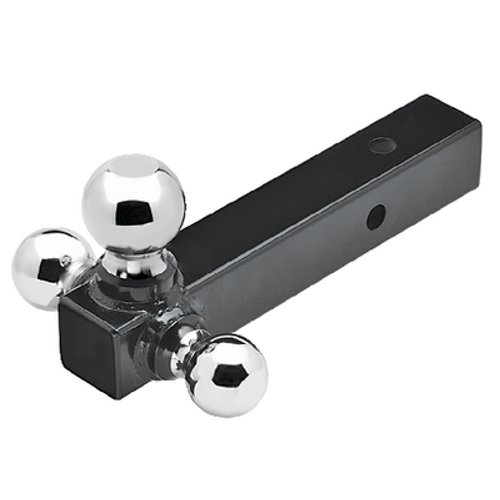 2 Inch Receiver Tube Tri-Ball Boat Trailer Tow Hitch
