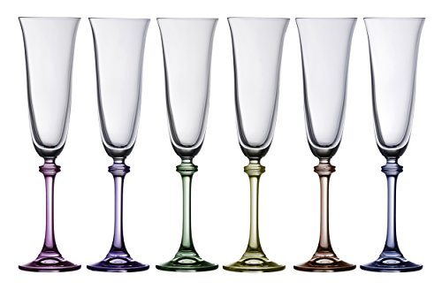 - Galway Crystal Galway Liberty Party Pack Flutes (Set of 6)