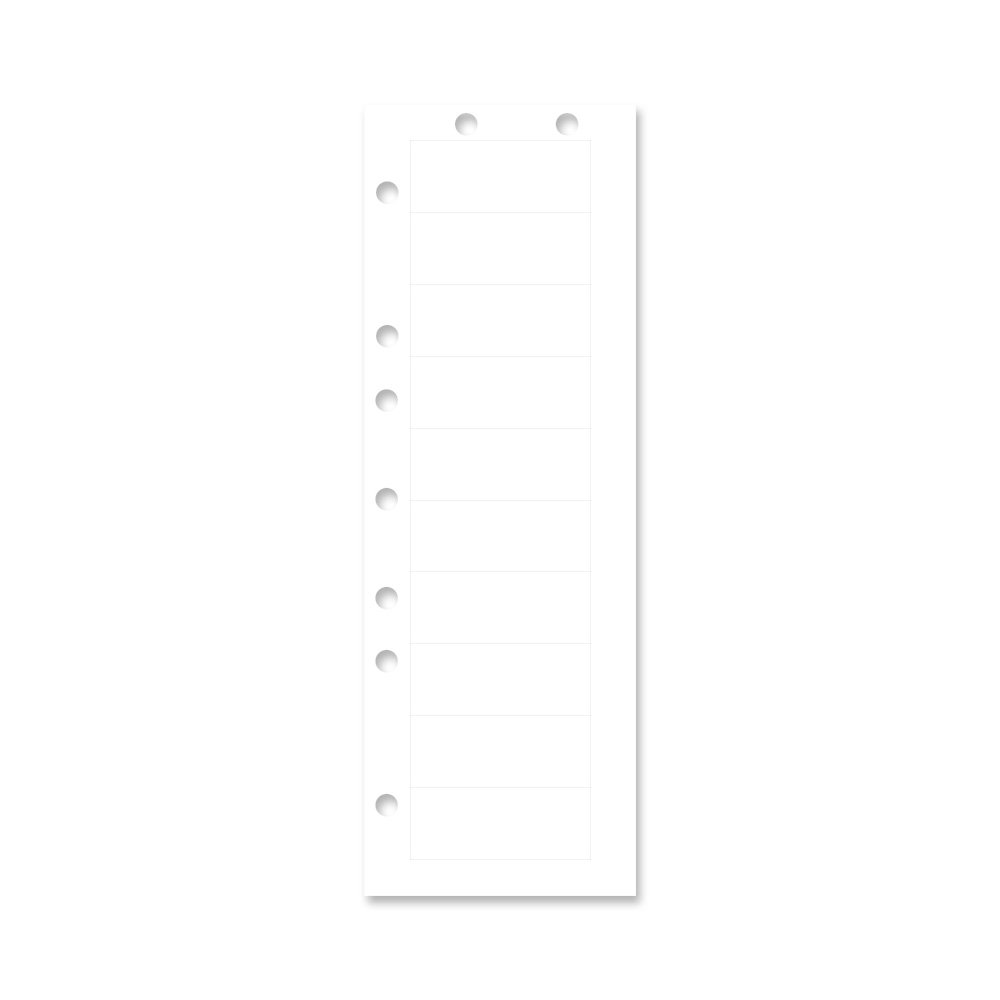 PDC Healthcare TM-ADMIT-10 Chart Labels Laser, 2 1/2'' x 1'' , White, 4 Packs of 250 per Case (Pack of 1000)