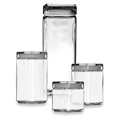 Anchor Hocking 2-Quart Stackable Square Canister