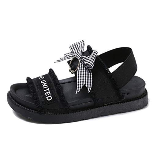 femmes chaussures des sauvages du étudiants Harajuku sable Version Sandals simples coréenne plates collège de d'été femmes Rome 2019 nouveau q8xFwTz