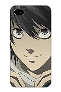 For Iphone 4/4s Fashion Design Anime Death Note Case-PnngtE-4360-VHSii / Cover Specially Made For Thanksgiving Day's Gift