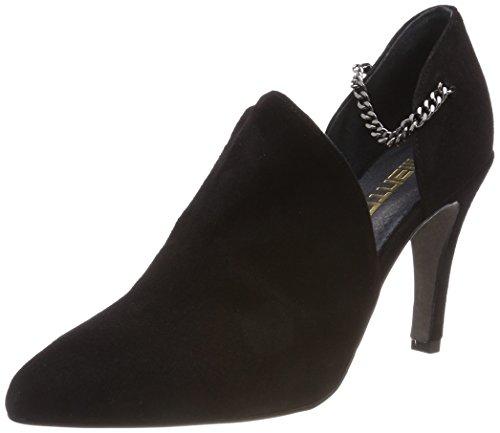 Mentor Damen Pompt Zwart (black)