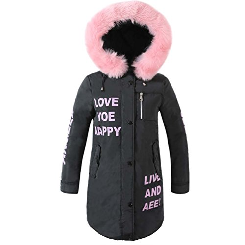 Amazon.com: Decorat-viv Hooded Coat Fur Collar Warm Long Jacket Female Outerwear Parka Ladies Abrigos Mujer INVIERNO New: Clothing