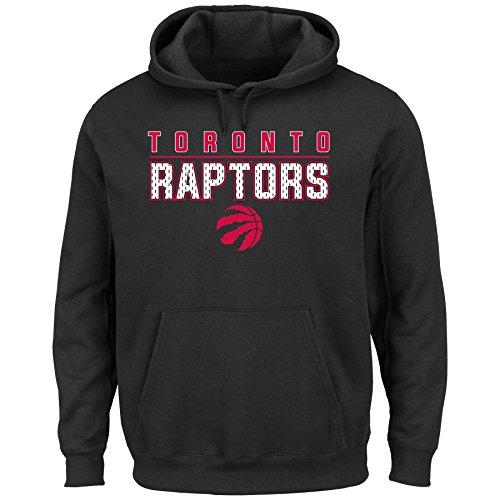 NBA Toronto Raptors Pullover Fleece Hoodie, Black, 2X/Tall