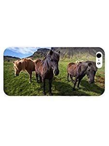 3d Full Wrap Case For Samsung Galaxy S3 i9300 Cover Animal Horses On The Field60
