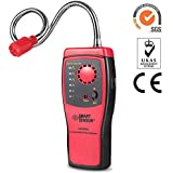 Joypea Natural Gas Detector,Propane Gas Leak Detector,Portable Gas Leak Sniffer Detector(Batteries Included),Gas Monitor Detector,CE Certified,Sound & LED Warning, Flexible Sensor Neck
