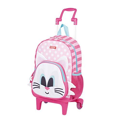 4f915fd0c Kit Mochila Infantil Kids Cat 18Y Lancheira Estojo Sestini