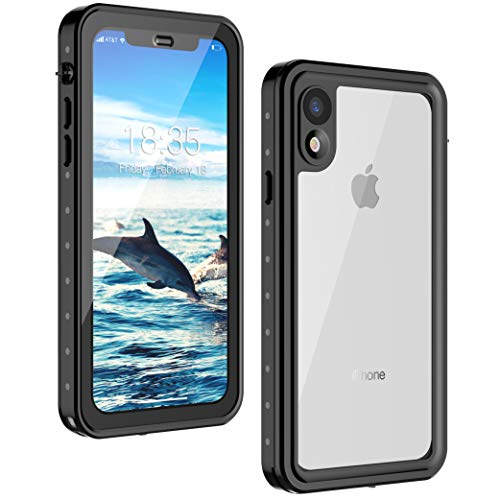 iPhone XR Waterproof Case 6.1 inch, 2018 Released, GOCOOL iPhone XR Protective Case, Built-in Screen Protector, Full Protective Case for iPhone XR, Waterproof, Dirtproof, Snowproof