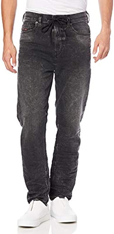 Diesel Męskie D-vider Cb-ne Sweat Jeans: Odzież