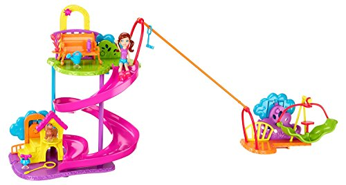 (Polly Pocket Wall Party Pet Park Playset)