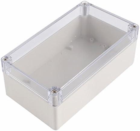 Caja de conexiones impermeable - SODIAL(R) Caja de proyecto electronico de conexiones de plastica de cubierta transparente impermeable 158x90x60mm: Amazon.es: Bricolaje y herramientas