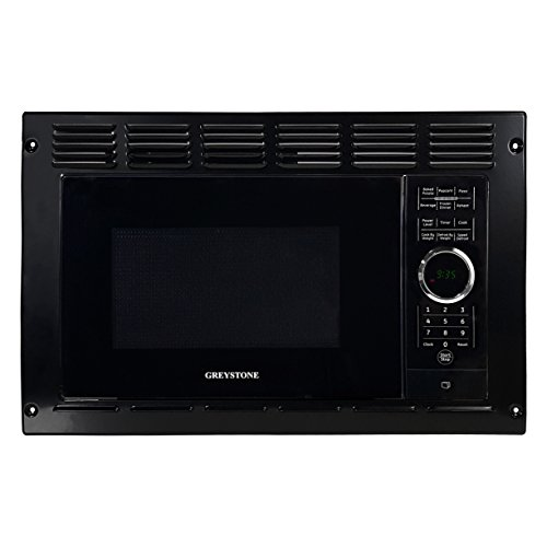 Greystone Rv Trailer Built In Microwave Oven W Trim Kit