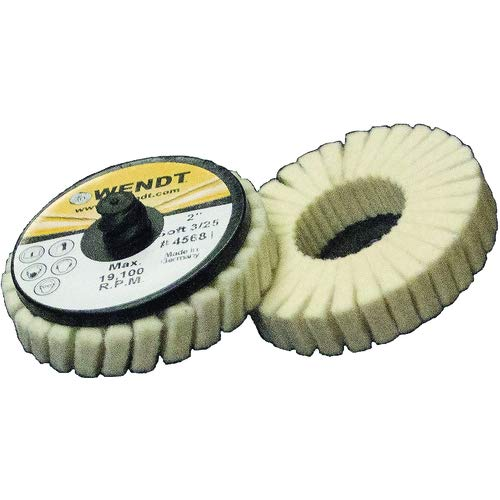 2'' MED TYPE R FELT POLISH FLAP DISC (Pack of 5)