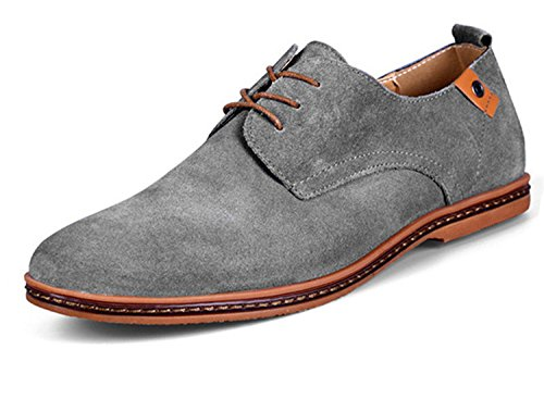 For Shoes Leather Mens Loafers Hei Black Shoes Men Shoes Oxford Dan Suede Men Casual Xie Se vgHwnWqd