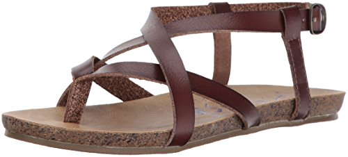 Blowfish Women's Granola Fisherman Sandal, Whiskey Dyecut PU, 7.5 M US by Blowfish