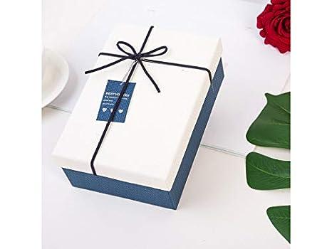 Yyanliii - Caja de regalo para dulces, cuadrada, caja de joyería para fiesta,