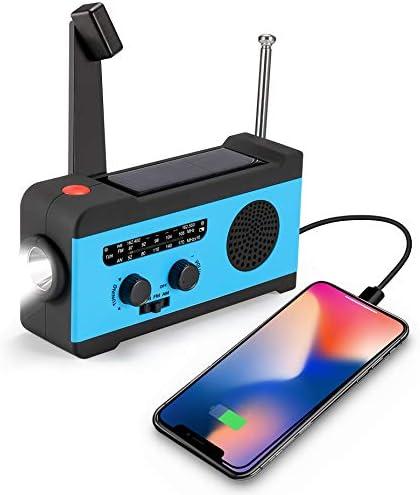CrazyFire Weather Emergency Flashlight Portable product image
