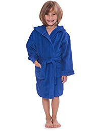 Kid s Hooded Terry Cloth Bathrobe - Cozy Robe by for Kids Texere (Rub-A f39df35da