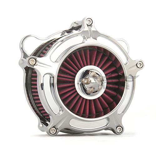 - chrome spike turbine AIR CLEANERS Touring FLHX FLHR FLTR FLHT 1993-2007, Dyna air cleaner softail 1993-2015 air filters