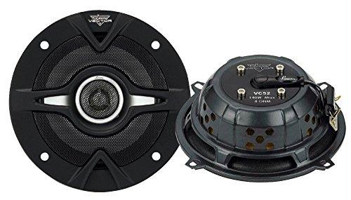 Lanzar VC52 Vector 5.25-Inch 140 Watts 2-Way Slim Speakers
