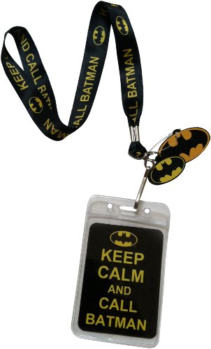 Lanyard-with-Charm-DC-Comics-Batman-Keep-Calm-and-Call-Batman-Lanyard