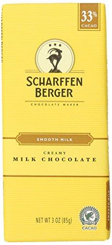 SCHARFFEN BERGER Chocolate Bar, 33% Cacao Gluten Free Smooth Milk Chocolate, 3.0 Ounce Bar (Pack of (Halloween Trail Mix)