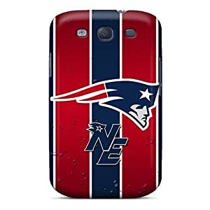 Galaxy S3 Cases Covers - Slim Fit Tpu Protector Shock Absorbent Cases (new England Patriots) by kobestar