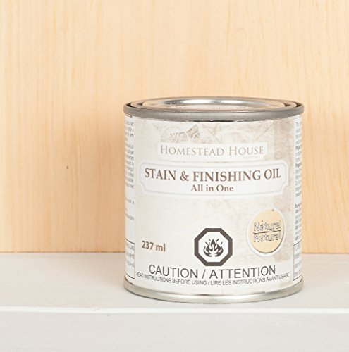 (Stain and Finishing Oil All in one Natural 237 ml)
