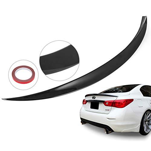 (Mophorn Rear Spoiler Primed Factory Style Rear Wing Spoiler for Infiniti Q50 2014-2018)