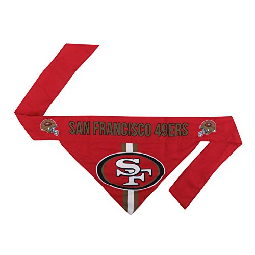 49ers Gear - NFL San Francisco 49ers Pet Bandanna, XL