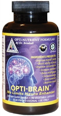 Brain Nutrients (Dr. Brimhall's Opti-Brain™ | break free of cognitive limits with this neurological enhancer!)