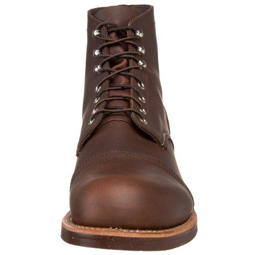 Red Wing Shoes - Zapatos de cordones de cuero para hombre Braun (Ambar Harness)