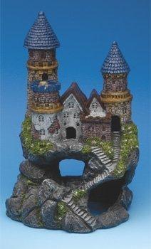 Penn-Plax RRW13 Enchanted Castle Ornamen - Penn Plax Magical Castle Shopping Results