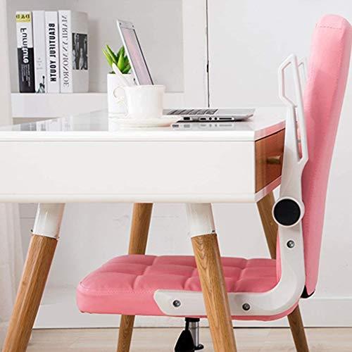 YANG kontorsstol rosa datorstol hem kontor stol sport spelstol student sovsal stol kan höjas och sänks 90 grader
