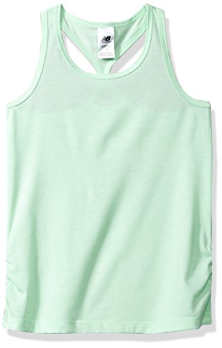 - New Balance Kids Girls' Little Athletic Tank Top, Green Flash, 5