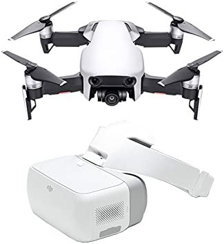 DJI Mavic Air Artic + Googles - Drone Plegable y portátil, Alta ...
