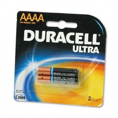 Duracell Ultra Power Alkaline Batteries w/ Duralock Power Preserve Technology, AAAA, (Aaaa Alkaline Batteries)