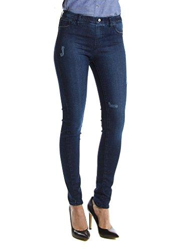 Carrera Jeans Vaqueros Skinny para Mujer 170 - Medio de Lavado Azul (Lavado A La Piedra)