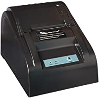 Smart&Cool® SC-5890T USB POS Printer with 58mm Thermal Paper Rolls - 90mm/sec High-speed Printing (Black)