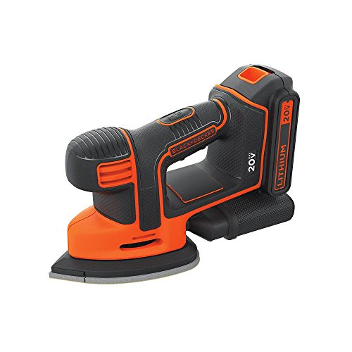 - BLACK+DECKER 20V MAX Sheet Sander (BDCMS20C)