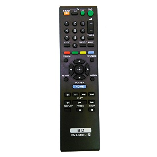 Universal Remote for Sony Blu-Ray DVD Player BDPS185 BDP-S185 BDP-S350 BDPS360 BDP-S360 BDPS390 BDP-S390 BDPS490 BDP-S490 BDP-S485 BDP-S590 BDPS590